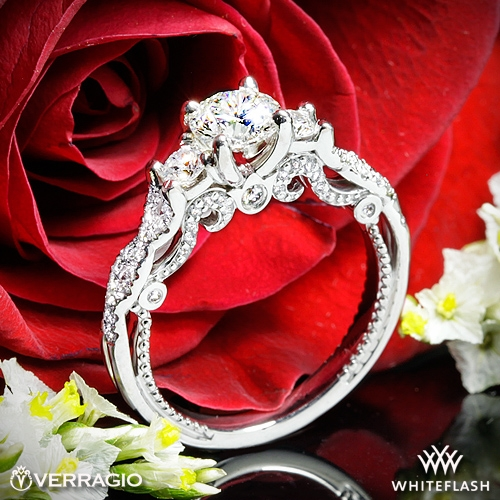 Verragio INS-7074R 3 Stone Engagement Ring