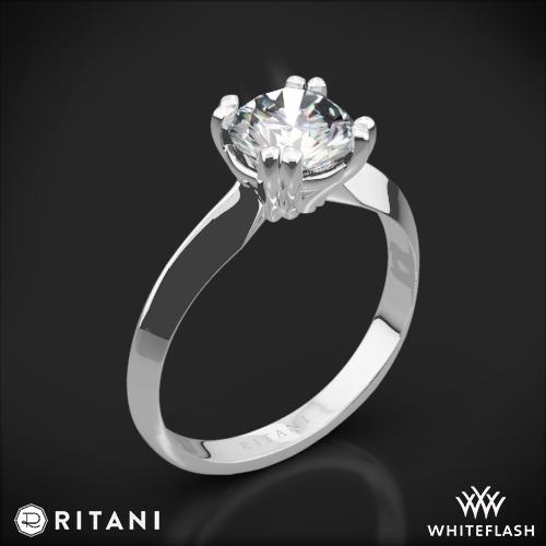 Ritani 1RZ7262 Solitaire Engagement Ring