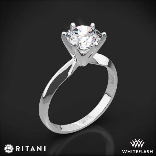 Ritani 1RZ7265 Solitaire Engagement Ring