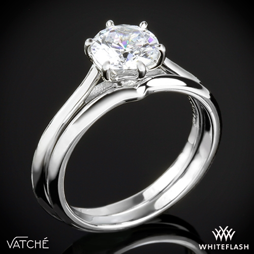 Vatche 1513 Felicity Wedding Set