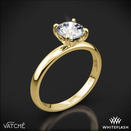 Vatche 1532 Charis Solitaire Engagement Ring