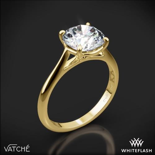 Vatche 1508 Venus Solitaire Engagement Ring