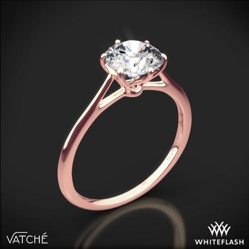 Vatche 1513 Felicity Solitaire Engagement Ring