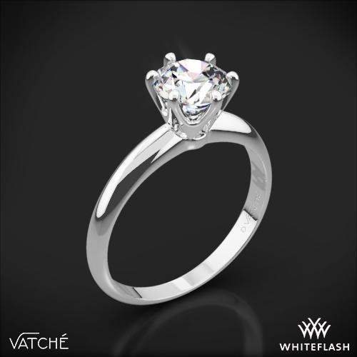 Vatche U-113 6-Prong Solitaire Engagement Ring