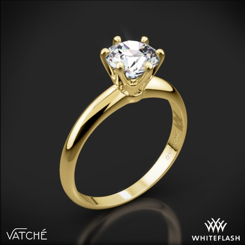 Vatche U-113 6-Prong Solitaire Engagement Ring