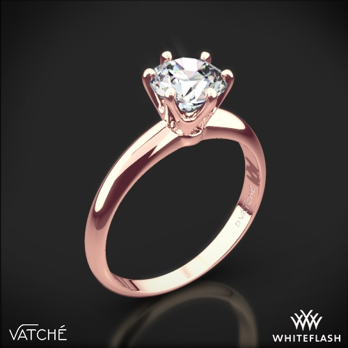 6 G Solitaire Engagement Ring By Vatche 1