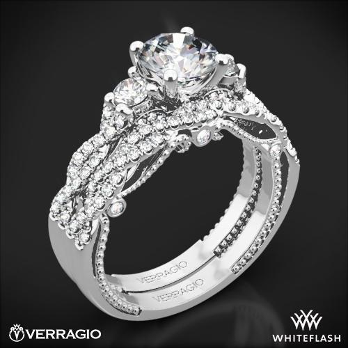 66180e7a119 Verragio INS-7074R Braided Three Stone Wedding Set 1 ...