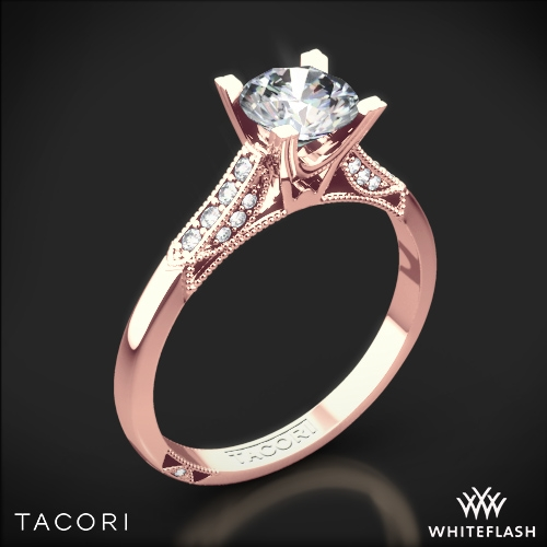 Tacori 2586RD Simply Tacori Pave Complete Diamond Engagement Ring