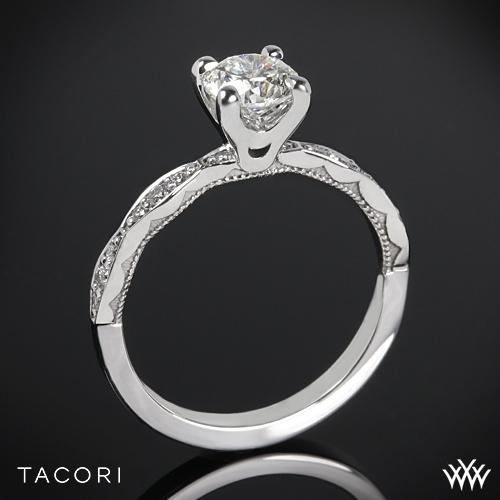 Tacori 46-2RD Sculpted Crescent Diamond Engagement Ring