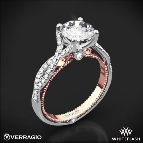 Verragio ENG-0421R-TT Twisted Two-Tone Diamond Engagement Ring