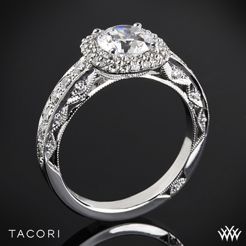 Tacori HT2520CU Blooming Beauties Diamond Engagement Ring