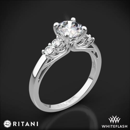 Ritani 1RZ2716 Trellis Five-Stone Diamond Engagement Ring