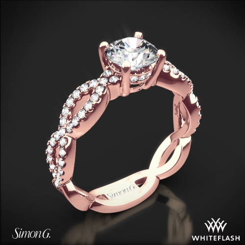Simon G. MR1596 Fabled Diamond Engagement Ring