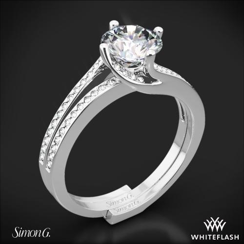 Simon G. MR1939 Fabled Diamond Wedding Set