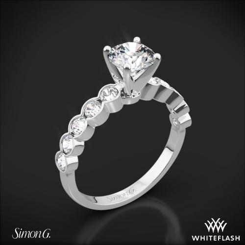 Simon G. MR2566 Caviar Diamond Engagement Ring