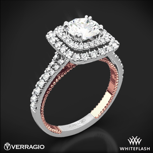Verragio ENG-0425CU Couture Diamond Halo Engagement Ring