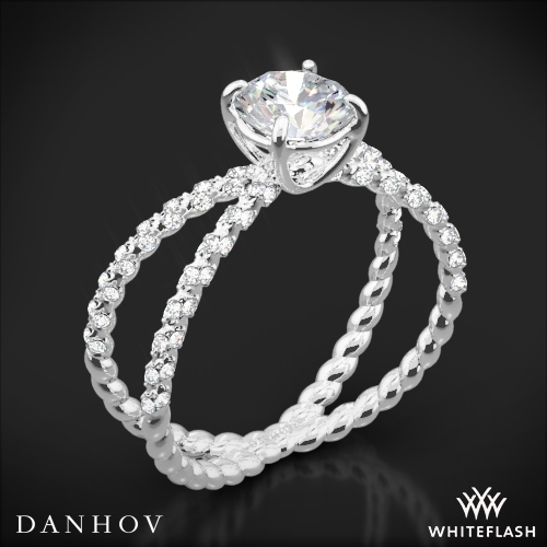 Danhov ZE185 Eleganza Diamond Engagement Ring
