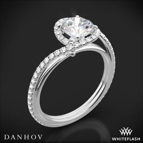 Danhov AE165 Abbraccio Diamond Engagement Ring