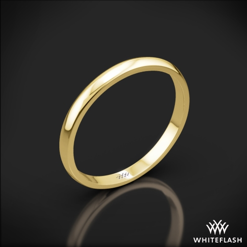 Knife-Edge Wedding Ring