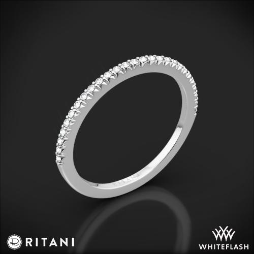 Ritani 23700 Open Micropavé Diamond Wedding Ring