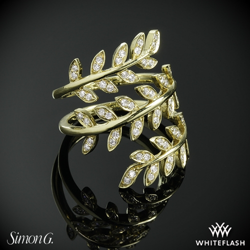 Simon G. LP2309 Diamond Right Hand Ring