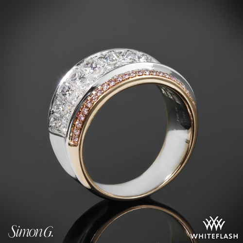 Simon G. MR1902 Simon Set Diamond Right Hand Ring