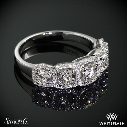 Simon G. MR2630 Caviar Right Hand Ring