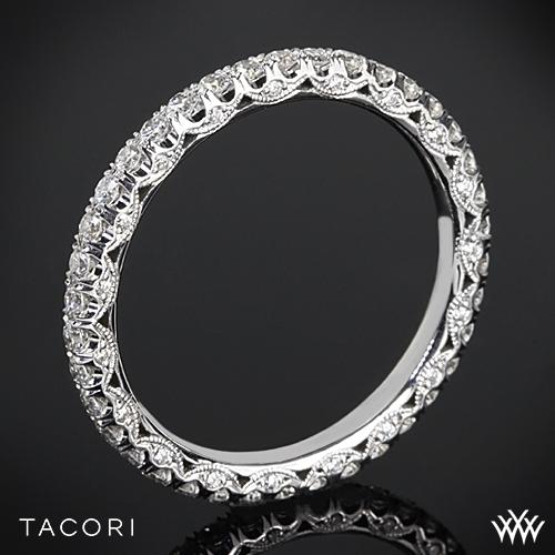 Tacori HT2545B Classic Crescent Eternity Scalloped Millgrain Diamond Wedding Ring