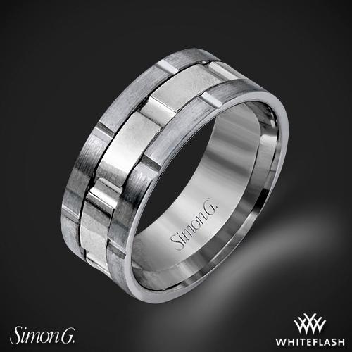 Simon G. LG100 Men's Wedding Ring