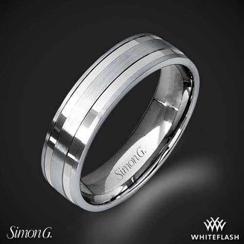 Simon G. LG104 Men's Wedding Ring