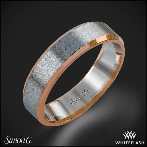 Simon G. LG108 Men's Wedding Ring