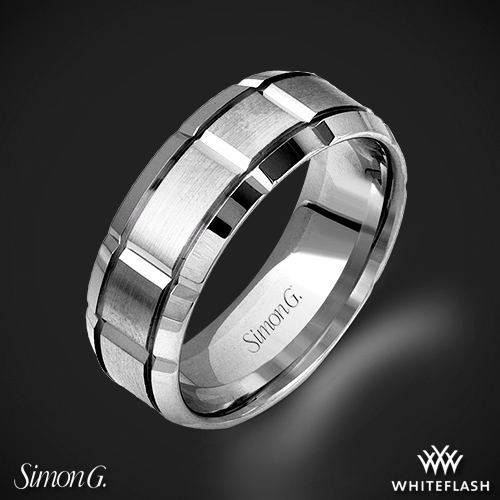 Simon G. LG112 Men's Wedding Ring