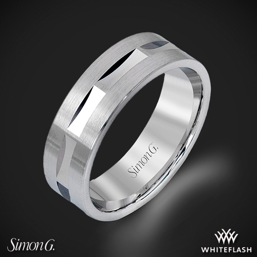 Simon G. LG115 Men's Wedding Ring