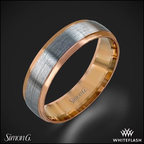 Simon G. LG116 Men's Wedding Ring