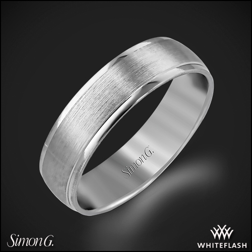 Simon G. LG124 Men's Wedding Ring