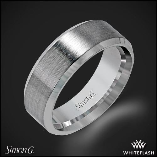 Simon G. LG151 Men's Wedding Ring