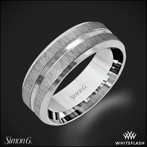 Simon G. LG152 Men's Wedding Ring