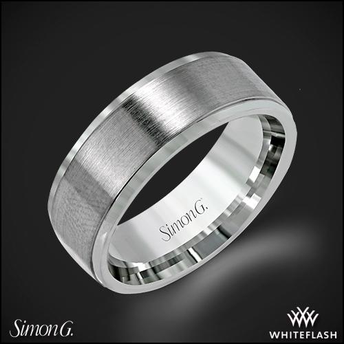 Simon G. LG154 Men's Wedding Ring
