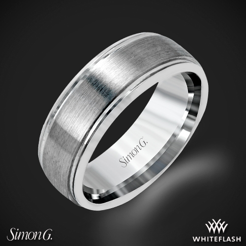 Simon G. LG155 Men's Wedding Ring