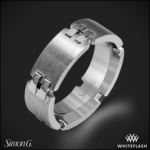 Simon G. LP2279 Men's Wedding Ring