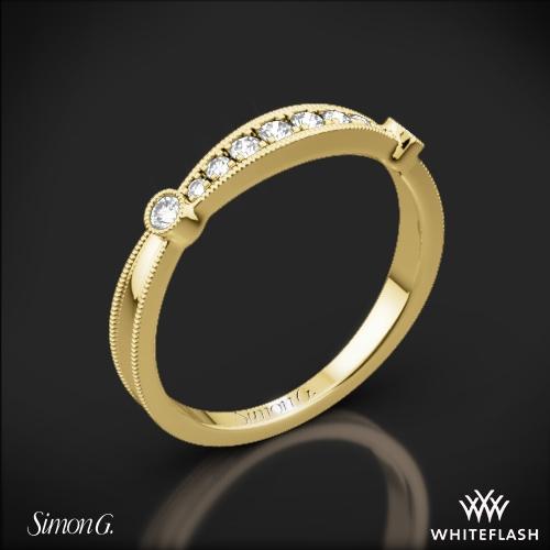 Simon G. MR1546-D Delicate Diamond Wedding Ring