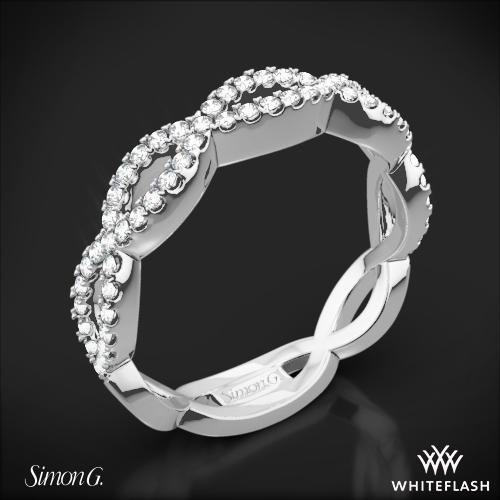 Simon G. MR1596 Fabled Diamond Wedding Ring