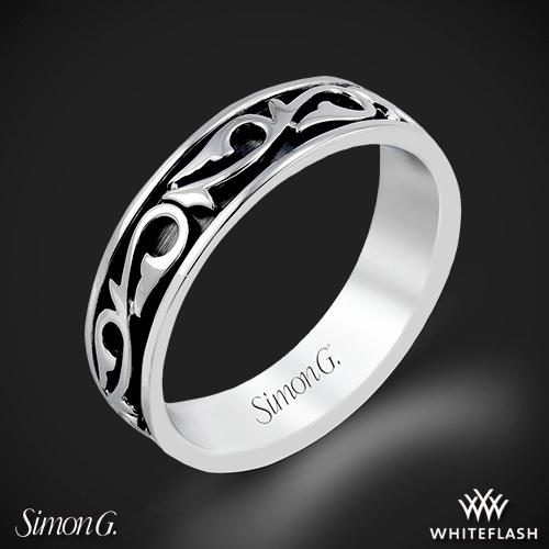 Simon G. MR2078 Men's Wedding Ring