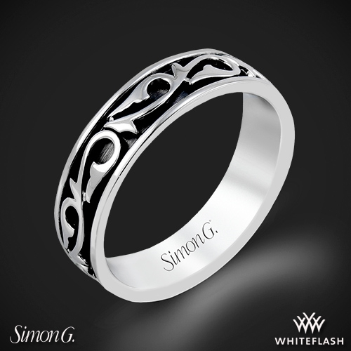 Simon G. MR2078 Men's Wedding Ring