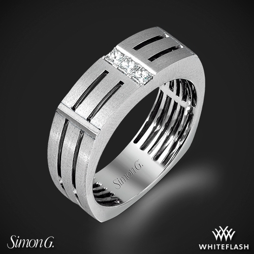 Simon G. MR2107 Men's Wedding Ring