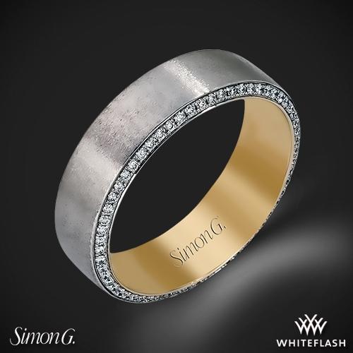Simon G. MR2273 Men's Wedding Ring