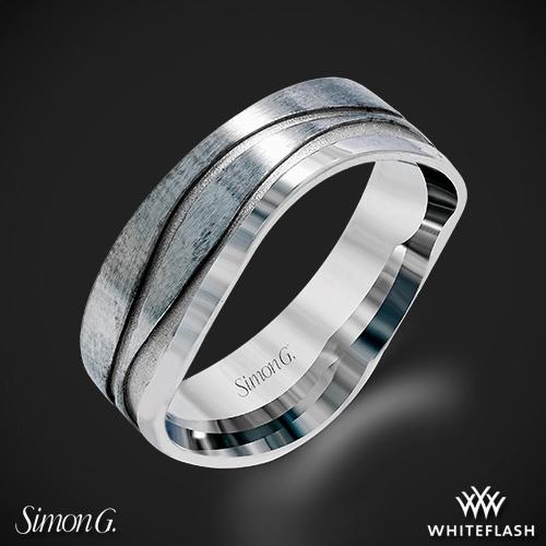 Simon G. MR2656 Men's Wedding Ring