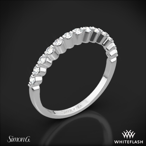 Simon G. MR2173-D Delicate Diamond Wedding Ring