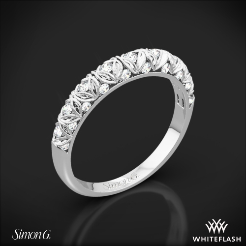 Simon G. LP1582-B Duchess Diamond Wedding Ring