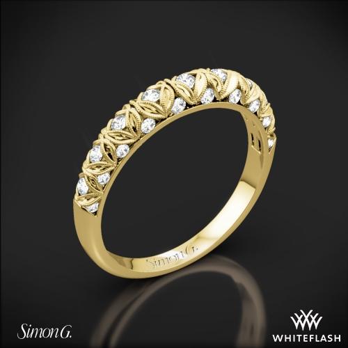 Simon G. LP1582-B Duchess Diamond Wedding Ring